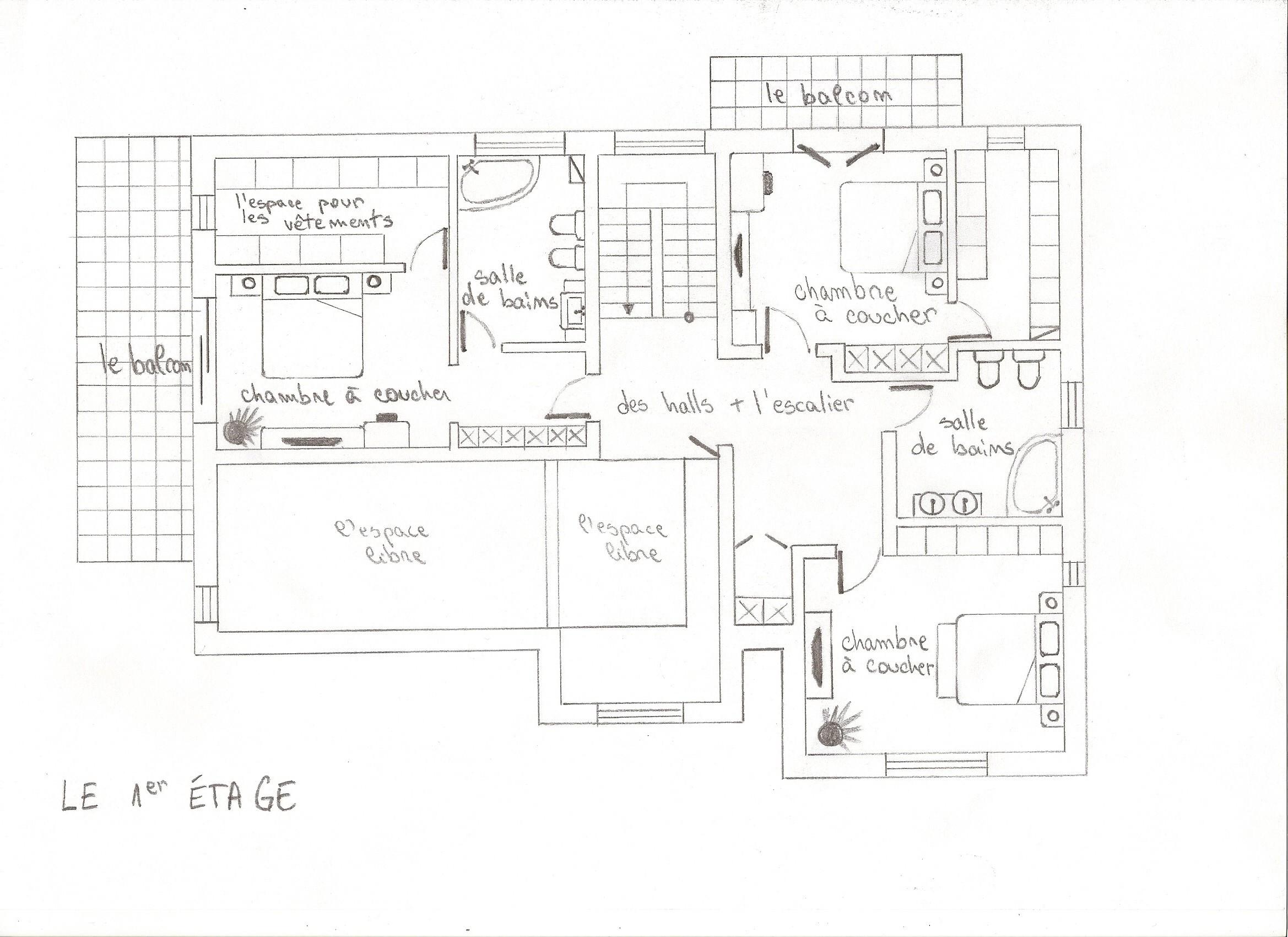 la maison id ale devoir francezatv. Black Bedroom Furniture Sets. Home Design Ideas